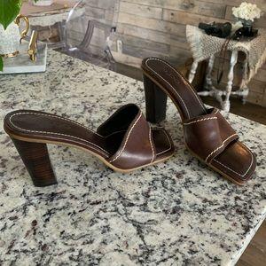 Vintage Aldo slip on heels